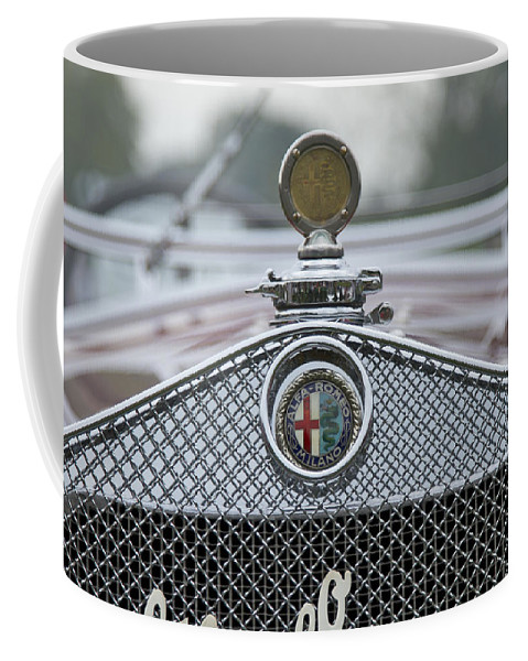 Glenmoor Coffee Mug featuring the photograph 1931 Alfa Romeo by Jack R Perry