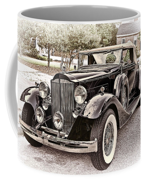 1932 Coffee Mug featuring the photograph 1932 Packard 903 Victoria by Marcia Colelli