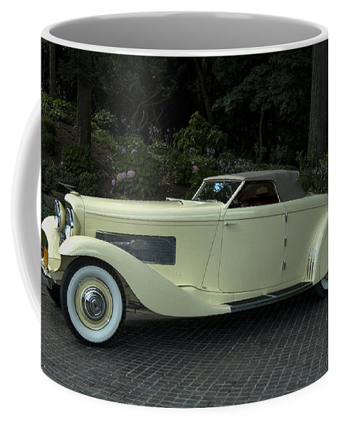 2008 Coffee Mug featuring the photograph 1935 Duesenberg J Roadster by Paul Cannon