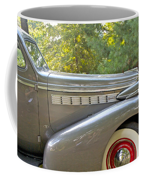 Antique Coffee Mug featuring the photograph 1938 Buick Special by Jack R Perry