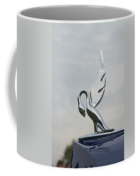 Glenmoor Coffee Mug featuring the photograph 1938 Packard by Jack R Perry