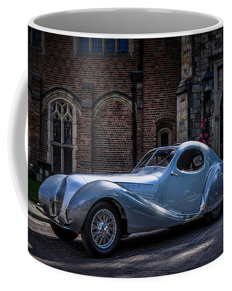 Car Coffee Mug featuring the photograph 1938 Talbot Lago 150 - C Teardrop Coupe by Ronald Grogan