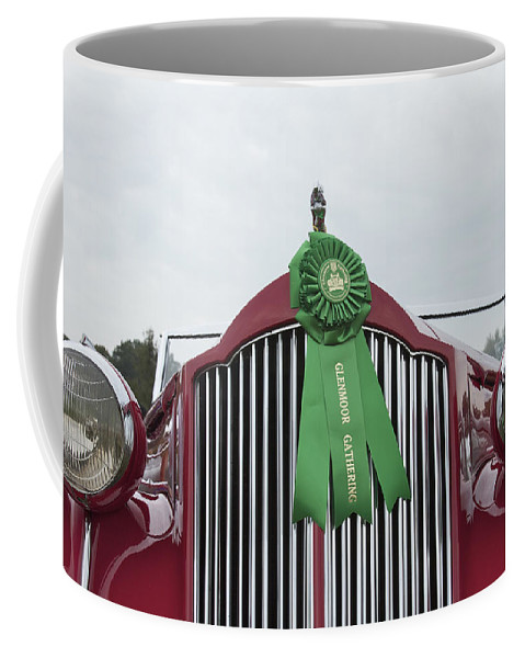 Antique Coffee Mug featuring the photograph 1939 Packard by Jack R Perry
