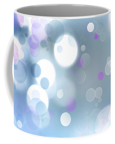 Circles Coffee Mug featuring the photograph Abstract Background by Les Cunliffe