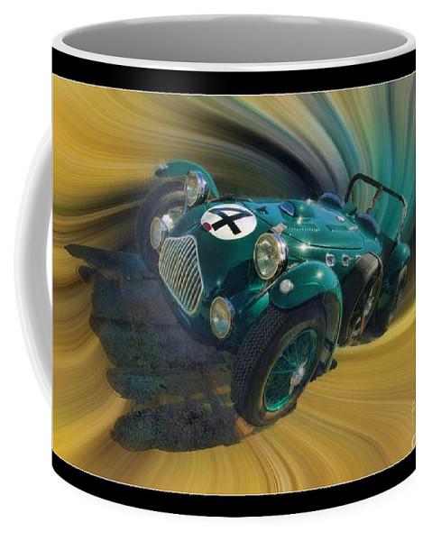 Allard Coffee Mug featuring the photograph 1950 Allard J-2 Lemans Car by Blake Richards