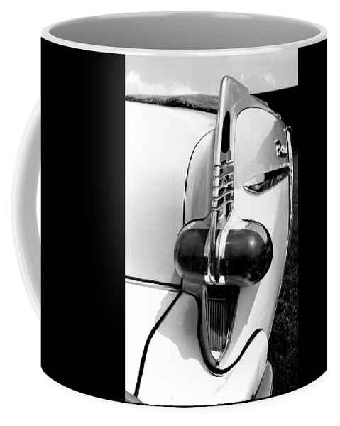 Packard Caribbean Coffee Mug featuring the photograph 1953 Packard Caribbean Tail Light by David M Davis