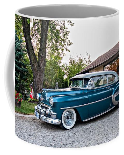 Classic Coffee Mug featuring the photograph 1954 Chevrolet Bel Air by Steve Harrington