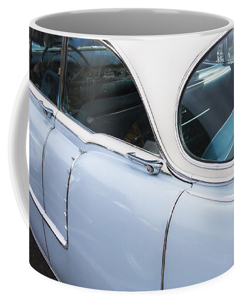 1956 Cadilac Coffee Mug featuring the photograph 1956 Cadilac Sedan De Ville by Rich Franco