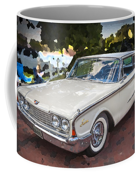 1960 Ford Starliner Coffee Mug featuring the photograph 1960 Ford Starliner by Rich Franco