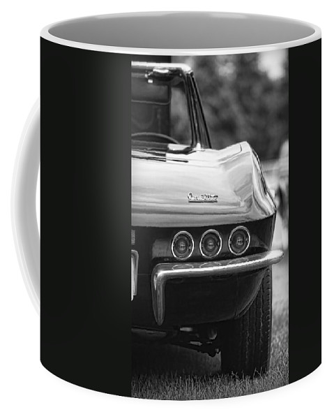 Chevy Coffee Mug featuring the photograph 1967 Chevy Corvette Stingray by Gordon Dean II