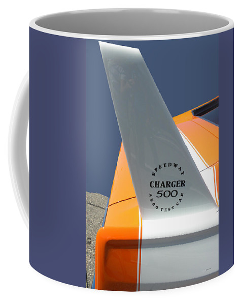 Chrysler Coffee Mug featuring the photograph 1967 Dodge Charger 01 by Thomas Woolworth