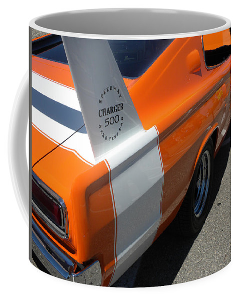 Chrysler Coffee Mug featuring the photograph 1967 Dodge Charger 02 by Thomas Woolworth