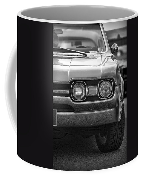 Black Coffee Mug featuring the photograph 1967 Oldsmobile 442 by Gordon Dean II