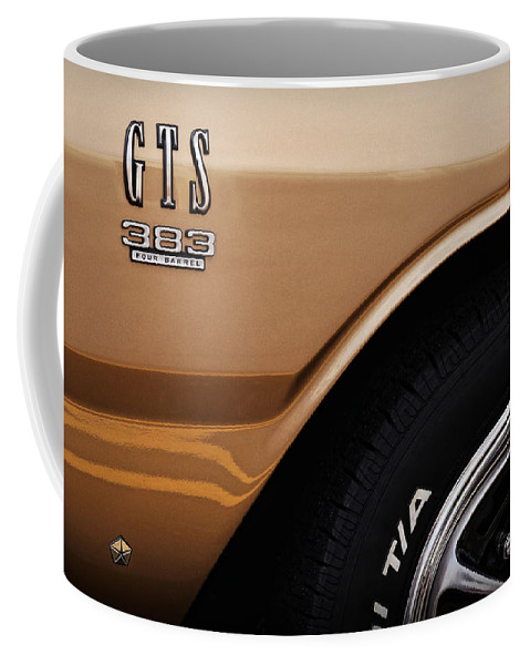 1968 Coffee Mug featuring the photograph 1968 Dodge Dart Gts 383 Four Barrel by Gordon Dean II