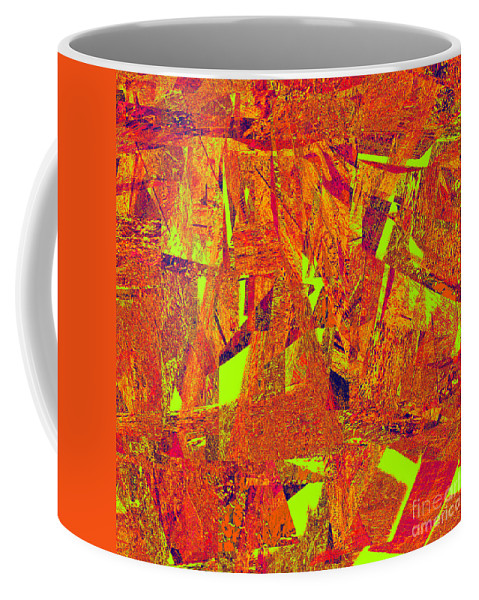 Abstract Coffee Mug featuring the digital art 0174 Abstract Thought by Chowdary V Arikatla
