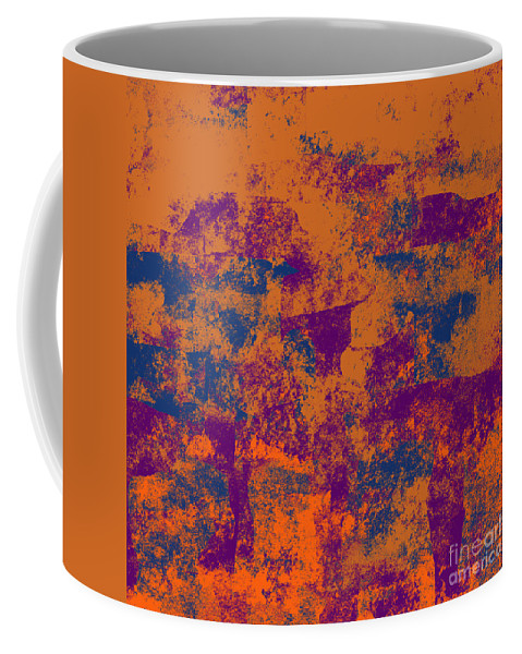 Abstract Coffee Mug featuring the digital art 0199 Abstract Thought by Chowdary V Arikatla