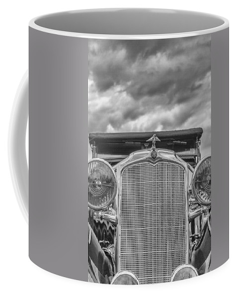 Antique Coffee Mug featuring the photograph 1934 Vauxhall by Jack R Perry