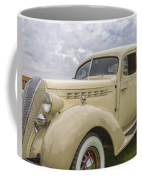 Antique Coffee Mug featuring the photograph 1936 Hudson Terraplane Truck by Jack R Perry