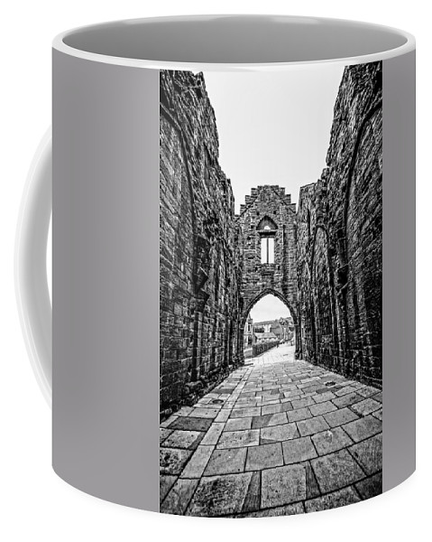 Abbey Coffee Mug featuring the photograph Arbroath Abbey by Mark Llewellyn