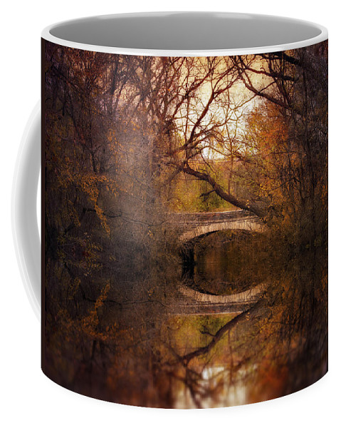 Autumn Coffee Mug featuring the photograph Autumn's End by Jessica Jenney
