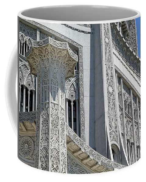 Architecture Coffee Mug featuring the photograph Bahai Temple Wilmette by Rudy Umans