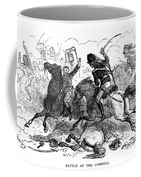 1781 Coffee Mug featuring the photograph Battle Of Cowpens, 1781 by Granger