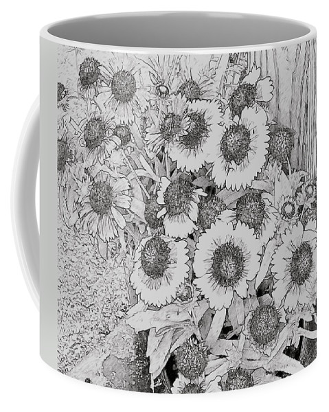 Black Eyed Susans Coffee Mug featuring the photograph Black Eyed Susans by Alice Gipson