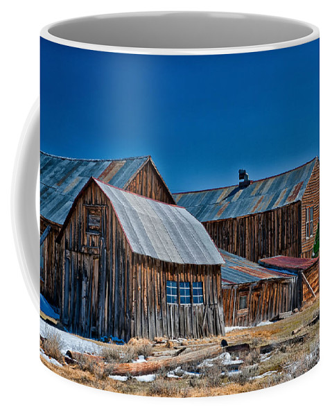 Bodie Coffee Mug featuring the photograph Bodie by Cat Connor
