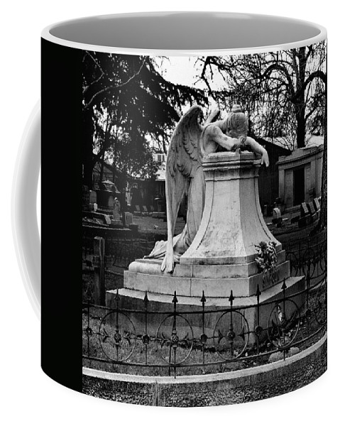 Guardian Coffee Mug featuring the photograph Broken Angel by Peter Piatt