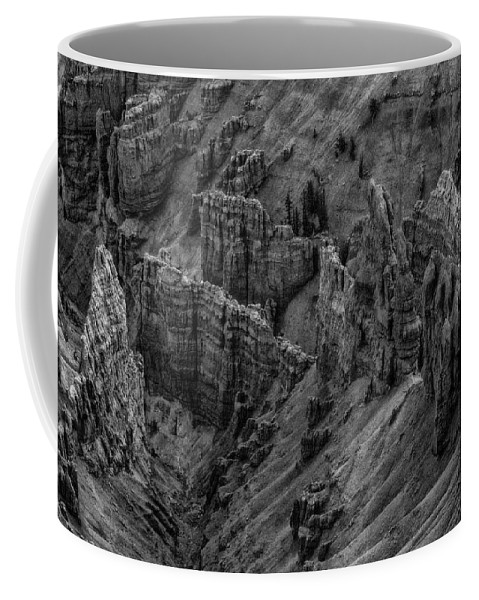 Adventure Coffee Mug featuring the photograph Bryce Canyon 4 by Ingrid Smith-Johnsen