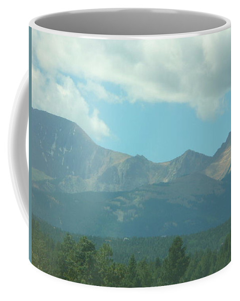 Lyle Coffee Mug featuring the painting Colorado Summer by Lord Frederick Lyle Morris