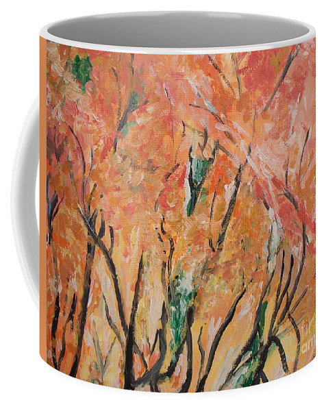 Fall Coffee Mug featuring the photograph Fall Colors At Cape May by Eric Schiabor