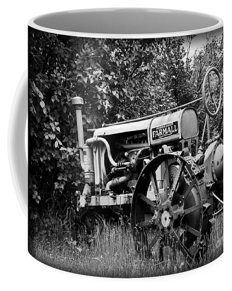 Old Coffee Mug featuring the photograph Farmall by Alana Ranney