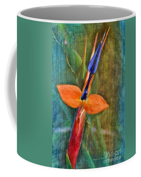Floral Coffee Mug featuring the photograph Floral Contentment by Deborah Benoit