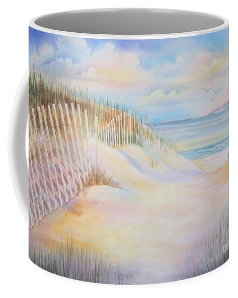 Florida Coffee Mug featuring the painting Florida Skies by Deborah Ronglien