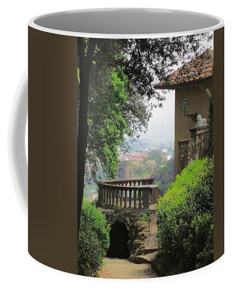 Garden View Coffee Mug featuring the photograph Garden View by Ellen Henneke