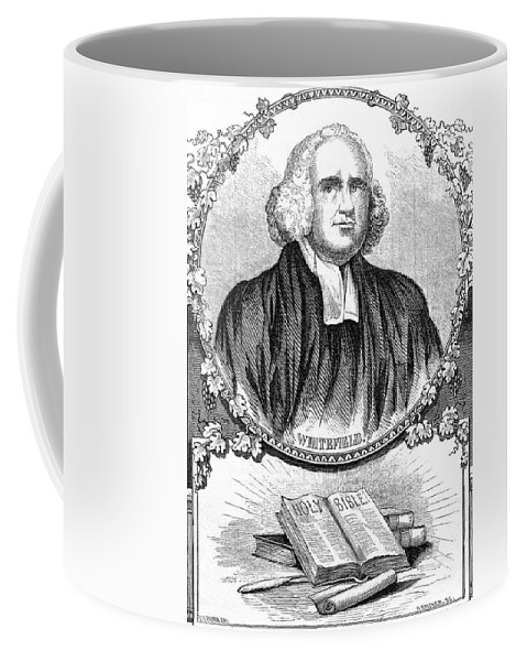 18th Century Coffee Mug featuring the painting George Whitefield (1714-1770) by Granger