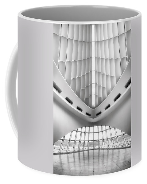 Milwaukee Coffee Mug featuring the photograph Grand Entrance by Scott Norris