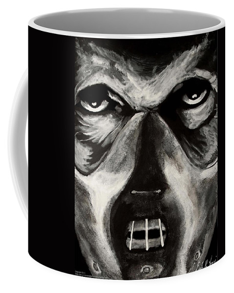Hannibal Coffee Mug featuring the painting Hannibal by Dale Loos Jr