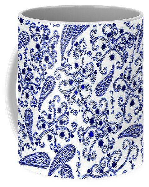 Flowers Coffee Mug featuring the drawing Heart And Flowers by Sylvie Leandre