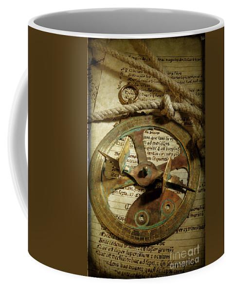 A Visitor Coffee Mug featuring the photograph .historical Navigation by Bernard Jaubert