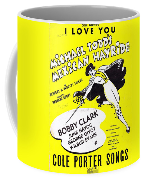 Nostalgia Coffee Mug featuring the photograph I Love You by Mel Thompson
