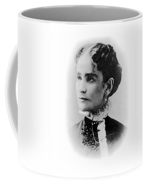 19th Century Coffee Mug featuring the photograph Ida Mckinley (1847-1907) by Granger