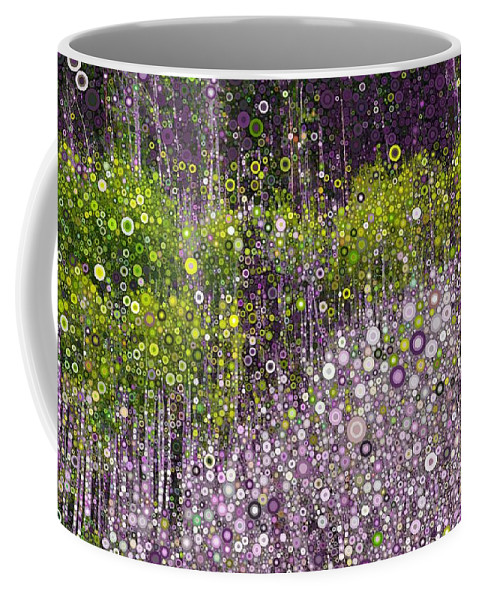 Digital Coffee Mug featuring the digital art Just Beyond Emerald City by Linda Bailey