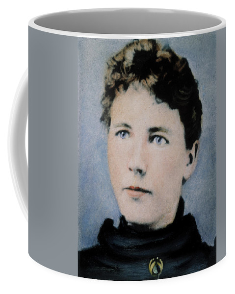 19th Century Coffee Mug featuring the photograph Laura Ingalls Wilder (1867-1957) by Granger