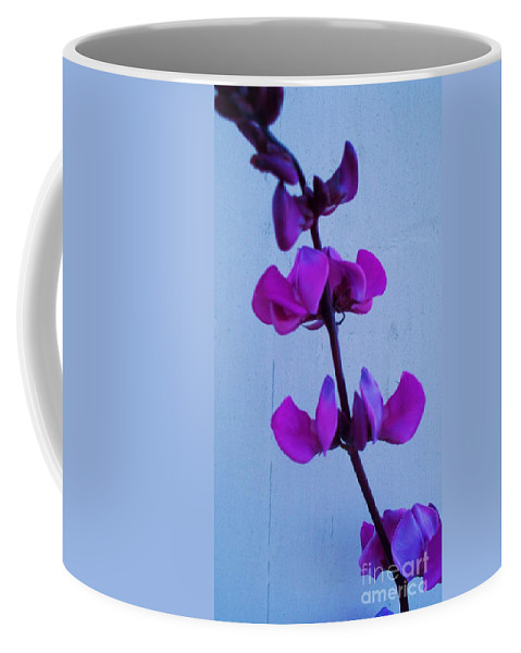 Lavender Flowers Coffee Mug featuring the photograph Lavender Flowers by Eric Schiabor