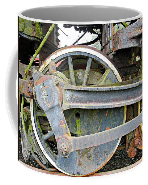 Locomotive Coffee Mug featuring the photograph Locomotive by Paul Fell