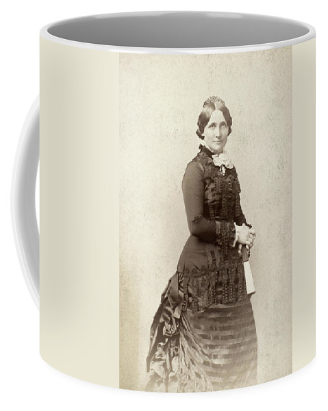 19th Century Coffee Mug featuring the photograph Lucy Hayes (1831-1889) by Granger