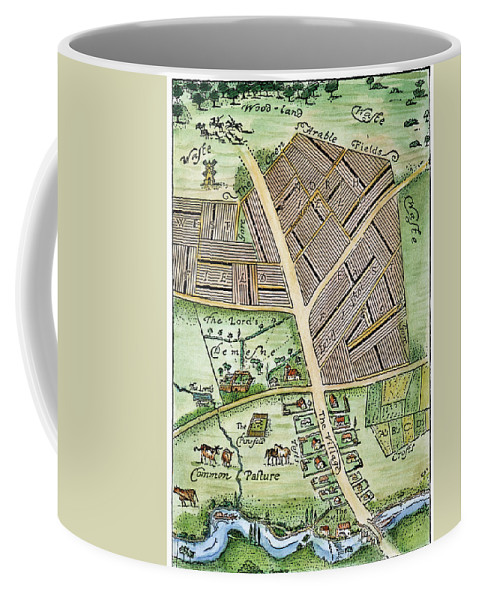 England Coffee Mug featuring the photograph Medieval English Manor by Granger