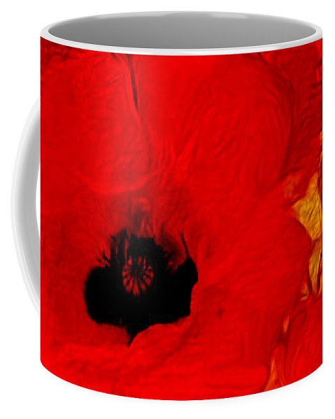 Painting Coffee Mug featuring the painting Mellow Yellow by Valerie Anne Kelly